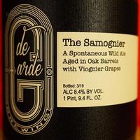 "BOTTLE#124 『The Samognier』 ""ザ サモニエール"" Spontaneous wild ale/8.4%/750ml by de Garde Brewing."