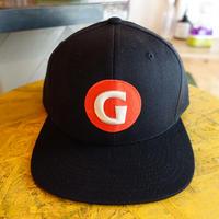 "GIGANTIC BREWING -CAP""Stich LOGO"" Black""ジャイガンティック刺繍 ロゴ 黒"