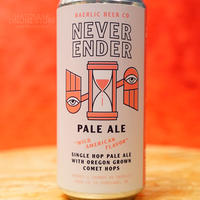 """CAN#151 『NEVER ENDER』 """"ネヴァーエンダー"""" PALE ALE/5.2%/473ml by BAERLIC Brewing."""