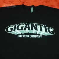 "GIGANTIC BREWING -T Shirts- ""LOGO"" Black ジャイガンティック ""ロゴ"" Tシャツ(送料込)"