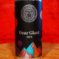 "CAN#139『Dear Giant』""ディア ジャイアント"" Double IPA /8.0%/473ml by LITTLE BEAST Brewing."