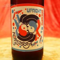 """BOTTLE#146『Kopstootje』 """"コップストゥージ"""" Bière de Garde/7.0%/375ml by UPRIGHT Brewing."""