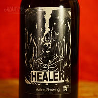 "BOTTLE#134『HEALER』 ""ヒーラー  version3"" HAZY IPA/5.5%/330ml by HATOS Brewing."