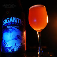 "BOTTLE#86 『Glow Cloud』 ""グロウクラウド"" HAZY IPA/7%/500ml by GIGANTIC Brewing."