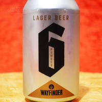 """CAN#180『Number 6』""""ナンバーシックス"""" Lager/4.7%/355ml by WAYFINDER Beer."""