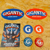 "『GIGANTIC S.S.』""ジャイガンティック S.S.(スッテッカーセット) by GIGANTIC Brewing."