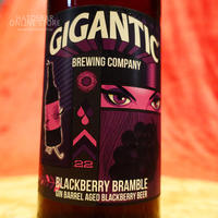 "BOTTLE#65『BLACKBERRY BRAMBLE』 ""ブラックベリーブランブル"" Barrel Aged Fruit Beer /8.0%/500ml by GIGANTIC Brewing."