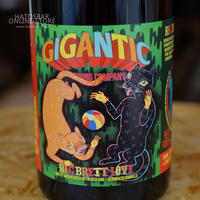 "BOTTLE#07 『BIG BRETT LOVE』 ""ビッグブレットラブ"" Saison/6.4%/750ml  by GIGANTIC Brewing."