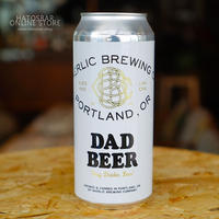 "CAN#104 『DAD BEER』 ""ダッドビア"" LAGER/4.8%/473ml by BAERLIC Brewing."