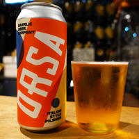 "CAN#160 『ORSA』 ""オーサ"" Italian Pilsner/5.2%/473ml by BAERLIC Brewing."