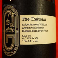 "BOTTLE#127 『The Chateau』 ""ザ シャトー"" Spontaneous wild ale/5.5%/750ml by de Garde Brewing."