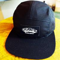 "GIGANTIC BREWING -CAP- ""BLACK TAG"" Blackジャイガンティック キャップ""ブラック タグ"" 黒"