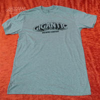 "GIGANTIC BREWING -T Shirts- ""LOGO"" Gray/Black/Green ジャイガンティック ""ロゴ"" Tシャツ"