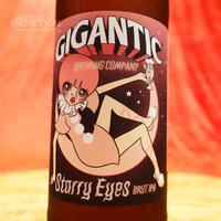 "BOTTLE#64『Starry Eyes』 ""スターリーアイズ"" BRUT IPA /7.5%/500ml by GIGANTIC Brewing."