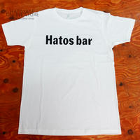 """"""" HATOSBAR Original T-SHIRTS  """"ハトスバー  オリジナル Tシャツ """" White"""