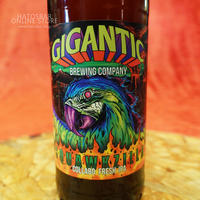 "BOTTLE#85 『Squawkzilla』 ""スカウクズィーラ"" JUICY IPA/6.3%/500ml by GIGANTIC Brewing."