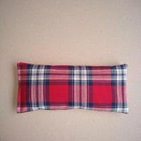 ぬかぽん Sサイズ 綿ツイル 赤タータンチェック