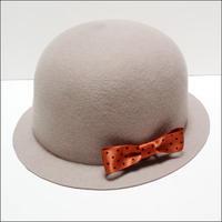 felt bowler hat(glay)