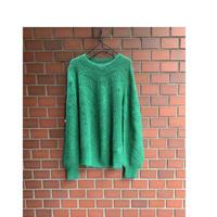 suncoo(サンクー) 透かし編みモヘアセーター