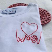 Keur paris  キュアパリ  刺繍Tシャツ  Promise