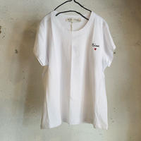 Balzac paris × mathilde cabanas    Bisou Tシャツ