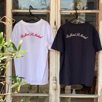 LE MONT ST MICHEL  ル モンサンミッシェル バック刺繍Tシャツ