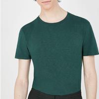 American vintage men  MBYSA18B 半袖スラブコットンTシャツ