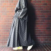 SOIL  ソイル ドット柄ギャザースカート