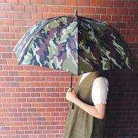 BonBonStore ボンボンストア カモフラージュ柄長傘