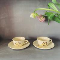 France  SALINS  サラン   花柄カップ&ソーサー
