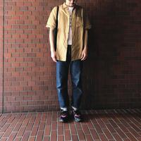 American vintage men アメリカンヴィンテージ メンズ FANY61  リネン半袖シャツ