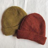 EMILE ET IDA  エミール エ イダ  リブニット帽子 (2color)