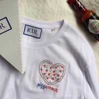 Keur paris キュア パリ 刺繍Tシャツ Pizzamour