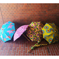 BonBonStore ボンボンストア  アフリカンバティック長傘   日傘