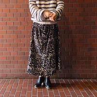 LEON&HARPER  レオパード柄スカート