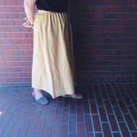 used ゴールドラメスカート
