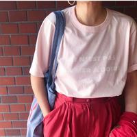 ARMEN  アーメン オーバーサイズフランス語Tシャツ
