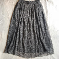 SOIL  ソイル フラワープリントギャザースカート