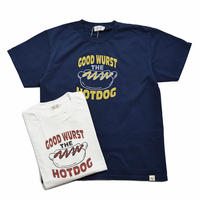 "<seabeads> プリントT-Shirt ""Hotdog"""