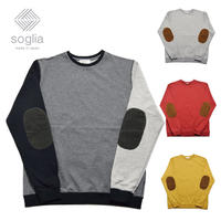 <Soglia/ソリア>Supple Sweat エルボーパッチ (20ss)