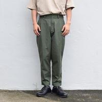 ※1color <BARNS> ワイド テーパード パンツ
