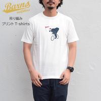 【吊り編み】プリントTシャツ「vic / チャリ」
