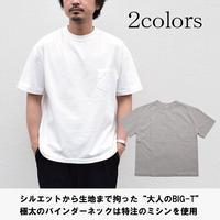 3cm ビッグリブ ヘビーウェイト T-Shirts (リラックスフィット)
