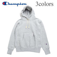 <Champion/プルオーバーパーカー> Reverse Weave C3-W102  青タグ リバースウィーブ 11.5oz