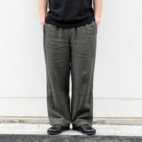 【2colors】<coochucamp> Linen Wide Pants / ワイド リネンパンツ