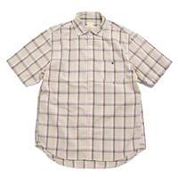 ※残りMサイズのみ! <BARNS> チェック ボタンダウンシャツ BR-7551
