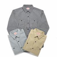 <BIG MIKE>ヒッコリーストライプシャツ Hickory Stripe Shirts