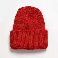 ※残りREDのみ 【メール便】<BRONER> Value knit cuff cap