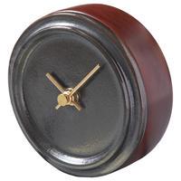 置き時計*GLAZED CLOCK mini MZ-04(メタル釉)