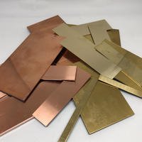 銅・黄銅(真鍮)板MIX 端材500g